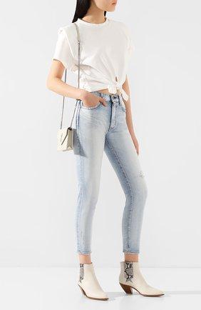 Женские джинсы MOUSSY голубого цвета, арт. 025DSC12-2180 | Фото 2