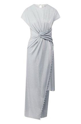 Женское платье LANVIN серебряного цвета, арт. RW-DR302K-4506-E20   Фото 1