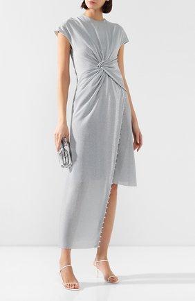 Женское платье LANVIN серебряного цвета, арт. RW-DR302K-4506-E20   Фото 2