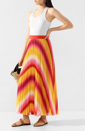 Женская юбка-макси ESCADA SPORT желтого цвета, арт. 5032756 | Фото 2
