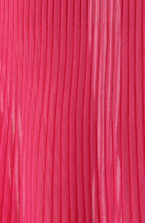 Женская хлопковая юбка JACQUEMUS фуксия цвета, арт. 201KN12/54450 | Фото 5