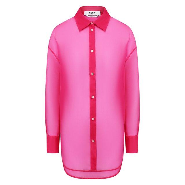 Шелковая рубашка MSGM