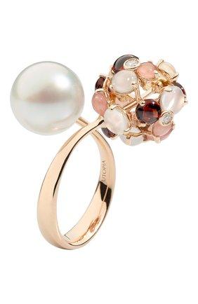 Женские кольцо UTOPIA розового золота цвета, арт. JKA1RRSS   Фото 1