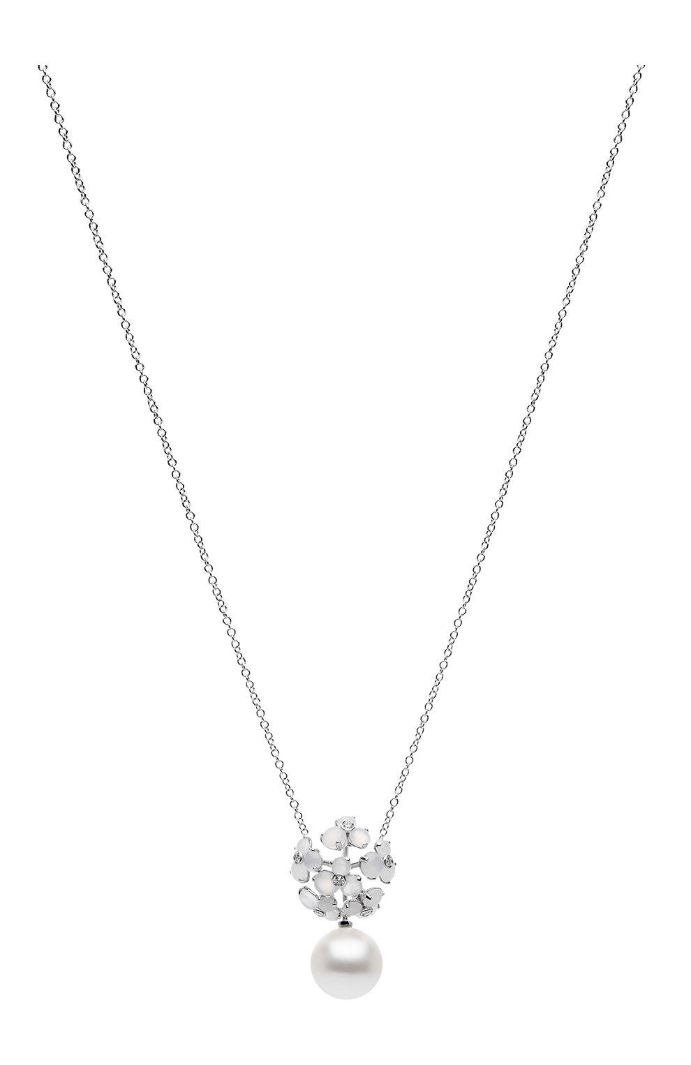 Женские колье UTOPIA белого золота цвета, арт. JKP2BMSS   Фото 1