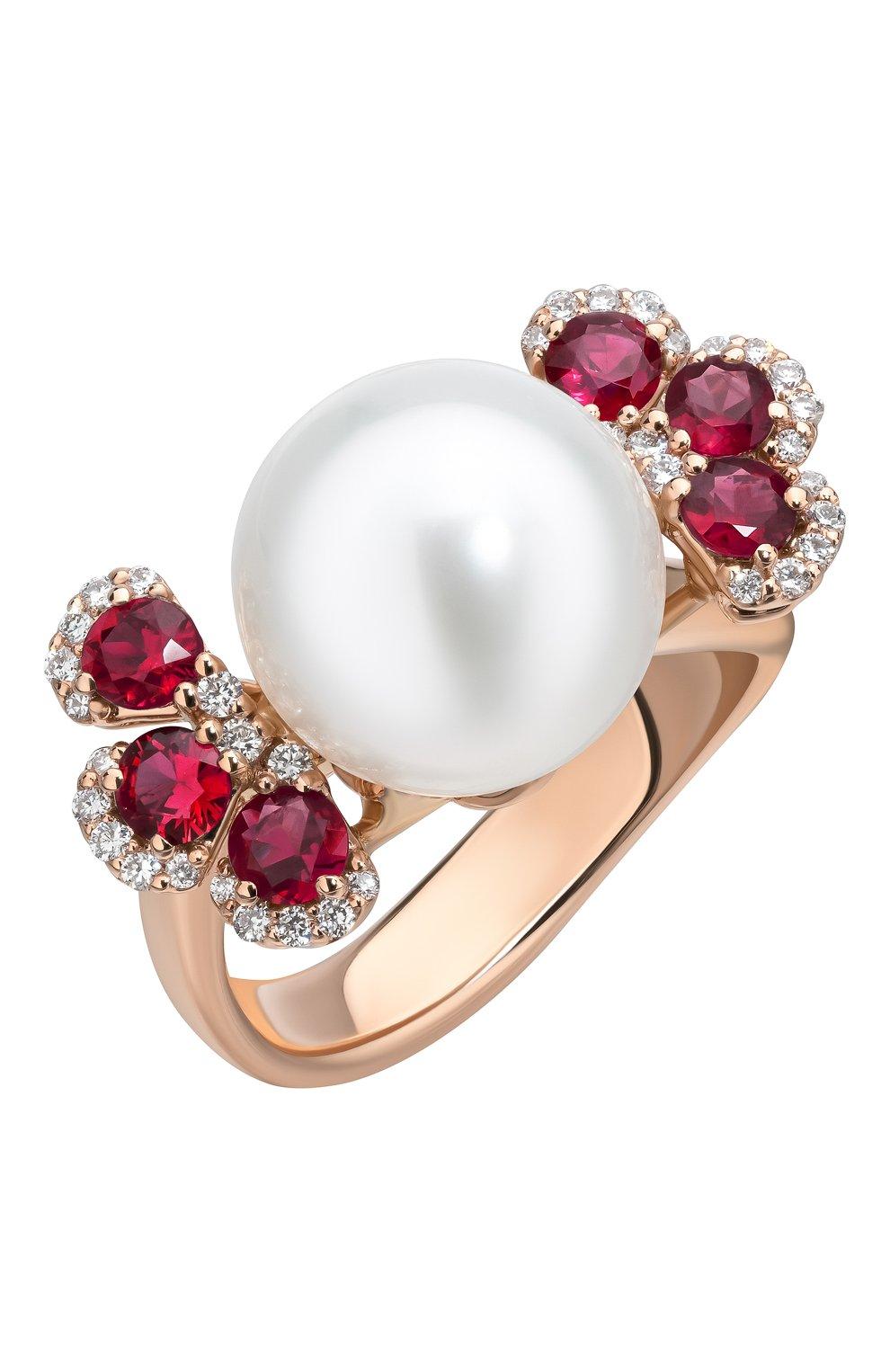 Женские кольцо UTOPIA розового золота цвета, арт. JMA3RBRSS | Фото 1