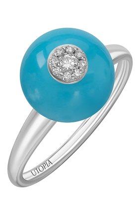 Женские кольцо UTOPIA бесцветного цвета, арт. JSA1BBT | Фото 1