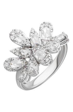 Женские кольцо UTOPIA белого золота цвета, арт. PVA4BBD | Фото 1