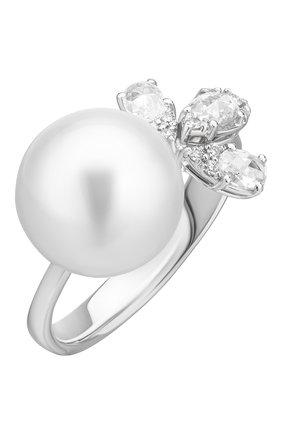 Женские кольцо UTOPIA белого золота цвета, арт. PVA5BBDSS | Фото 1