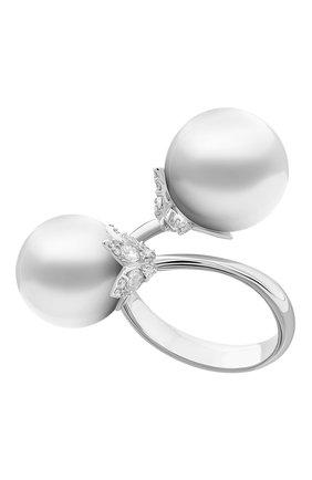 Женские кольцо UTOPIA белого золота цвета, арт. SDA2BBSS | Фото 1