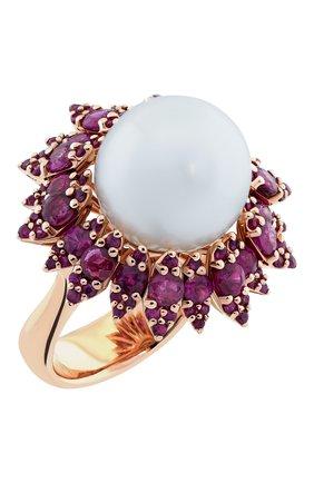 Женские кольцо UTOPIA розового золота цвета, арт. SDA6RRSS | Фото 1