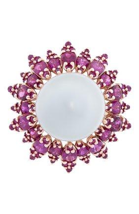 Женские кольцо UTOPIA розового золота цвета, арт. SDA6RRSS | Фото 2
