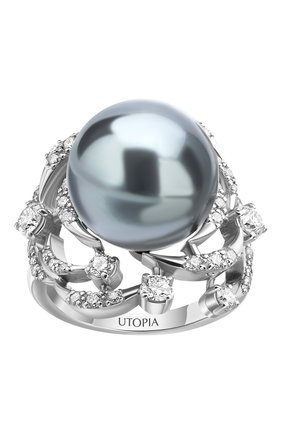 Женские кольцо UTOPIA белого золота цвета, арт. YCA2BBTH | Фото 2