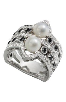 Женские кольцо UTOPIA белого золота цвета, арт. YDA2BXFW | Фото 1