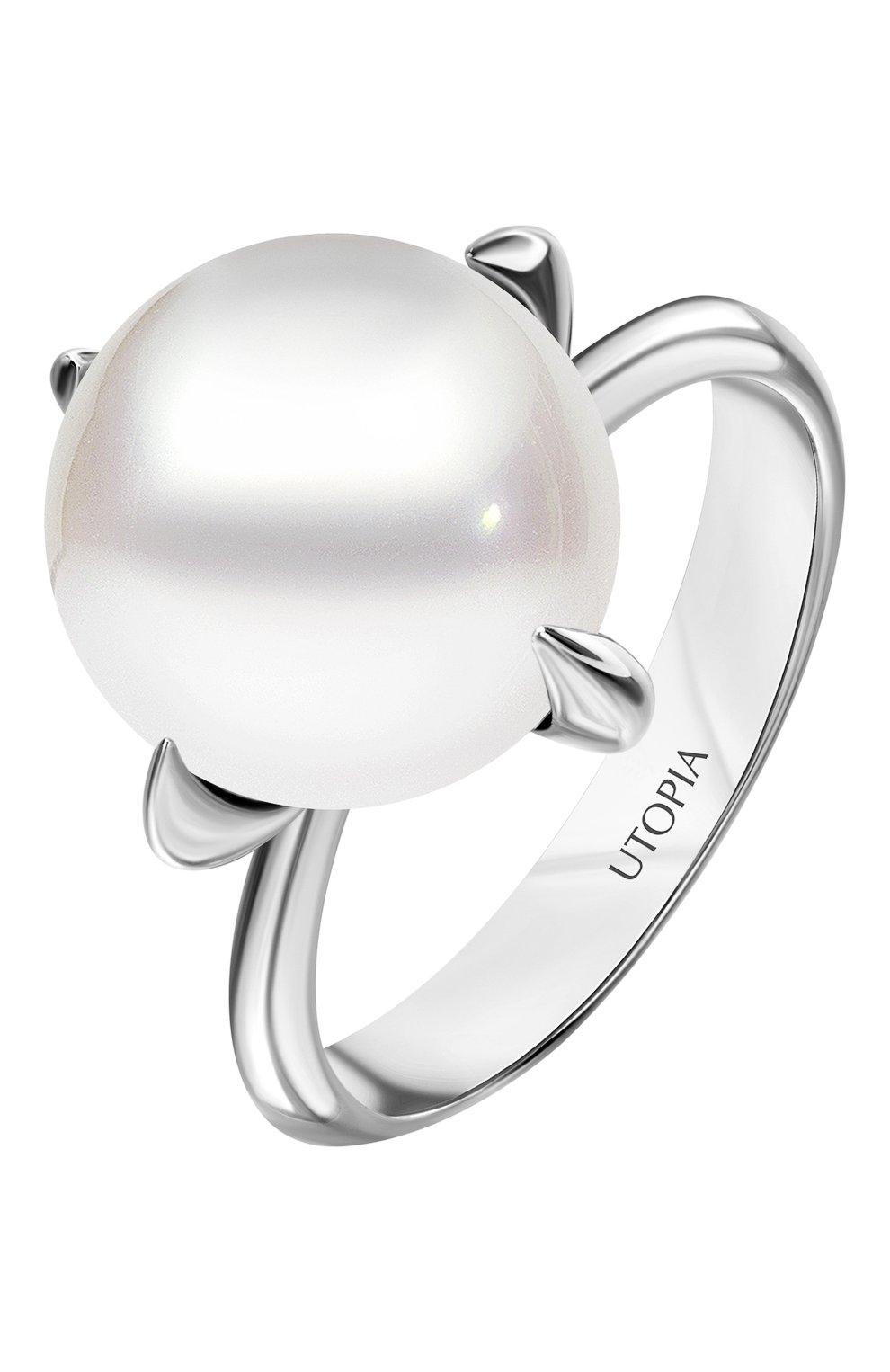 Женские кольцо UTOPIA белого золота цвета, арт. YRA3BFW   Фото 1