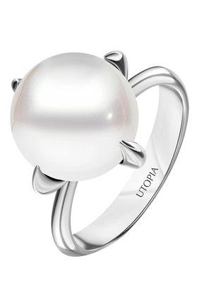 Женские кольцо UTOPIA белого золота цвета, арт. YRA3BFW | Фото 1