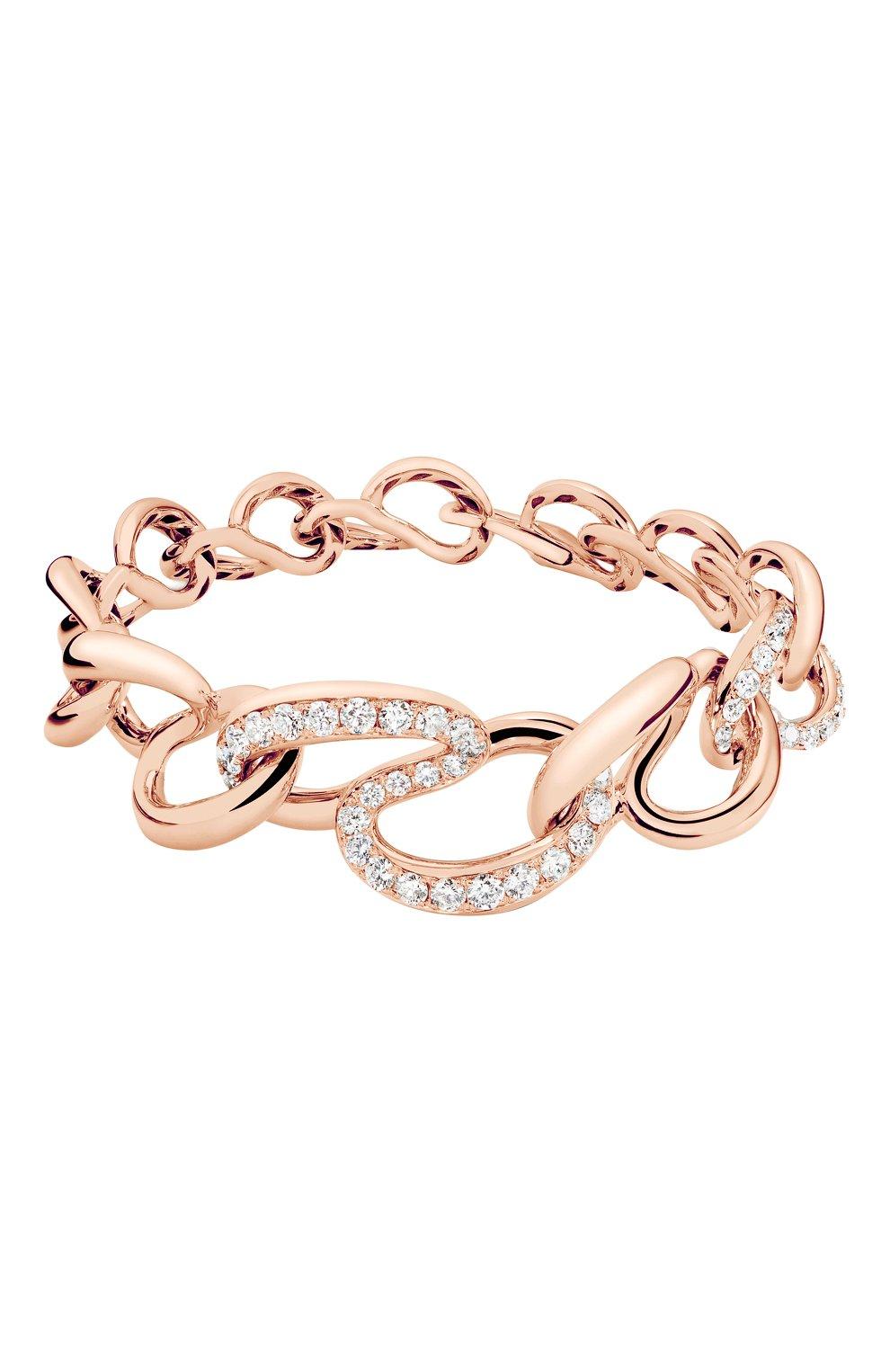 Женские браслет DE GRISOGONO розового золота цвета, арт. 48411/04 | Фото 1