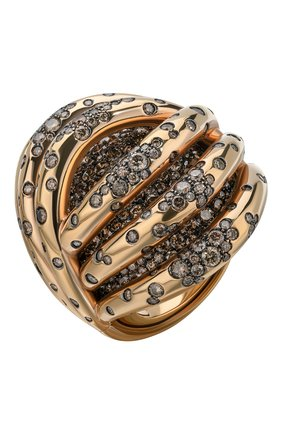 Женские кольцо DE GRISOGONO розового золота цвета, арт. 50445/06 | Фото 1
