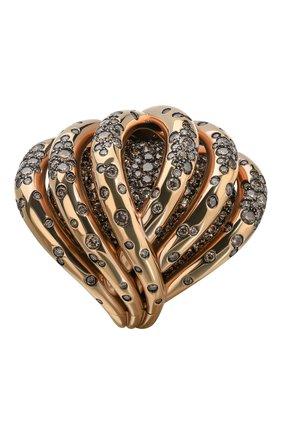 Женские кольцо DE GRISOGONO розового золота цвета, арт. 50445/06 | Фото 2