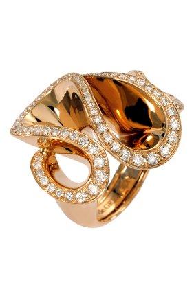 Женские кольцо DE GRISOGONO розового золота цвета, арт. 50521/04 | Фото 1