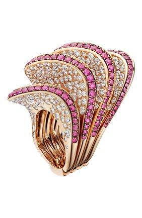 Женские кольцо DE GRISOGONO розового золота цвета, арт. 50752/13 | Фото 1