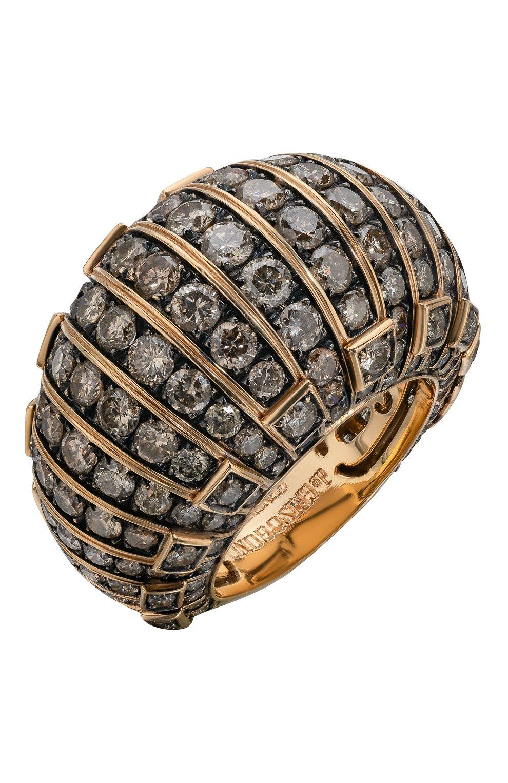 Женские кольцо DE GRISOGONO розового золота цвета, арт. 50763/06   Фото 1