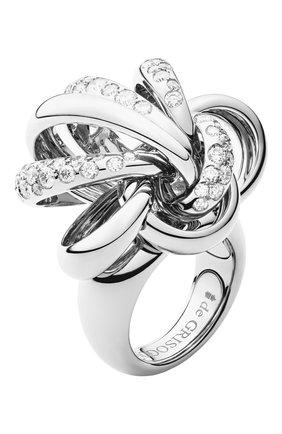 Женские кольцо DE GRISOGONO белого золота цвета, арт. 51231/01 | Фото 1