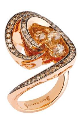 Женские кольцо DE GRISOGONO розового золота цвета, арт. 51251/08 | Фото 1