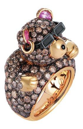 Женские кольцо DE GRISOGONO розового золота цвета, арт. 52052/05   Фото 1
