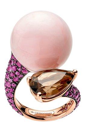 Женские кольцо DE GRISOGONO розового золота цвета, арт. 52112/21 | Фото 1