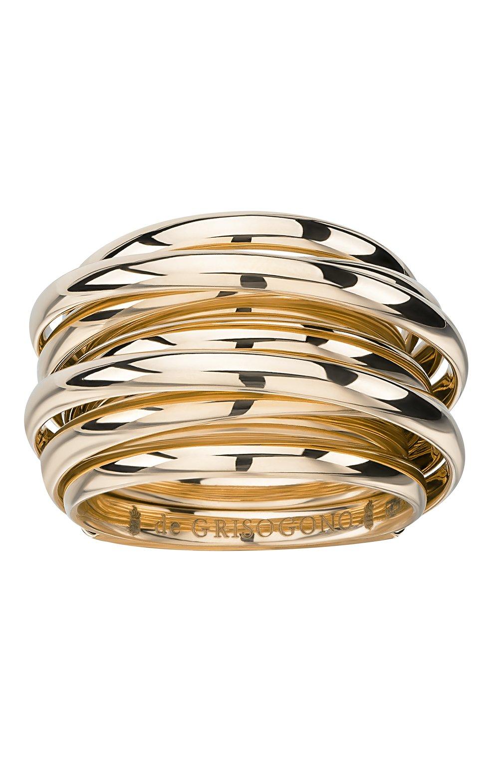 Женские кольцо DE GRISOGONO розового золота цвета, арт. 54000/04 | Фото 2