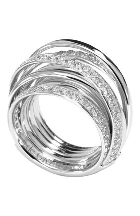 Женские кольцо DE GRISOGONO белого золота цвета, арт. 54001/01 | Фото 1