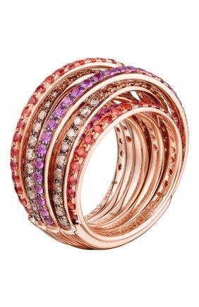 Женские кольцо DE GRISOGONO розового золота цвета, арт. 54002/39 | Фото 1