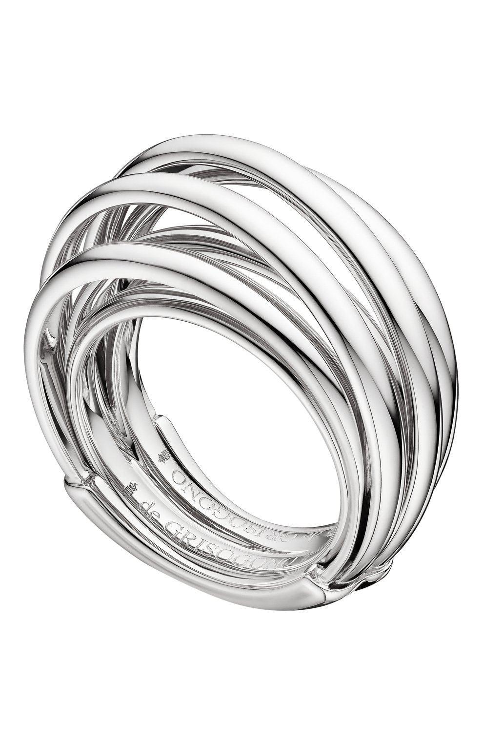 Женские кольцо DE GRISOGONO белого золота цвета, арт. 54020/01 | Фото 1