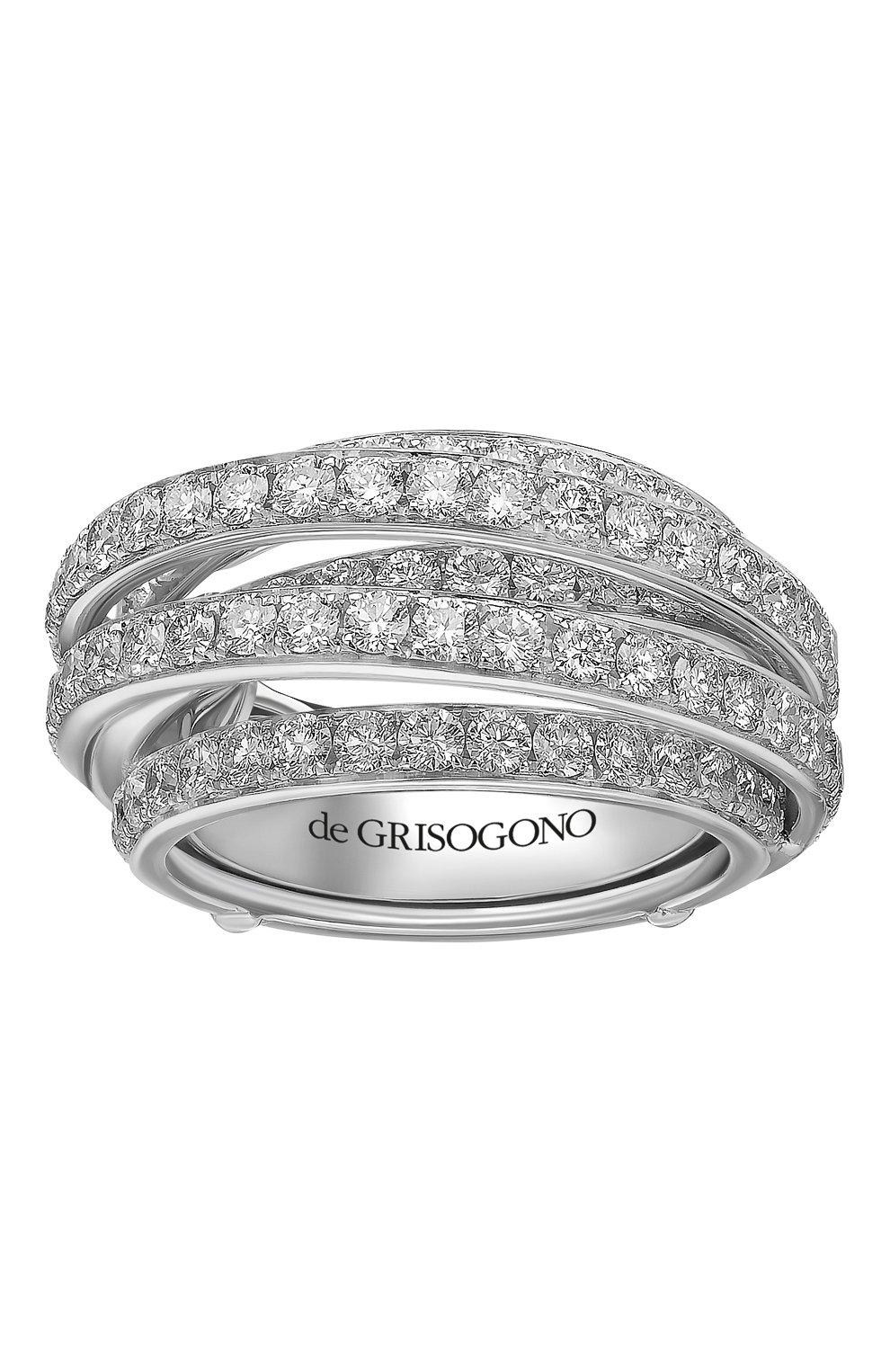 Женские кольцо DE GRISOGONO белого золота цвета, арт. 54032/01 | Фото 2