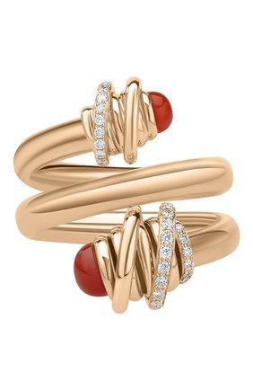 Женские кольцо DE GRISOGONO розового золота цвета, арт. 54181/38 | Фото 2