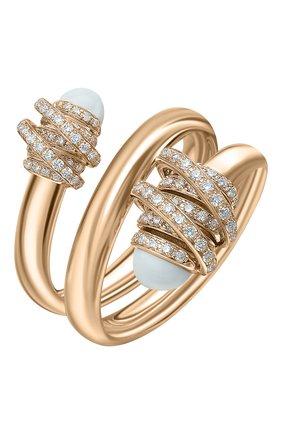 Женские кольцо DE GRISOGONO розового золота цвета, арт. 54182/36 | Фото 1