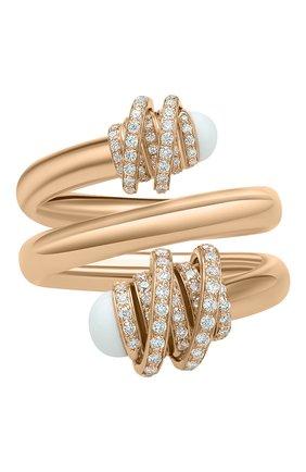 Женские кольцо DE GRISOGONO розового золота цвета, арт. 54182/36 | Фото 2