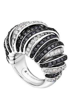 Женские кольцо DE GRISOGONO бесцветного цвета, арт. 54252/23   Фото 1