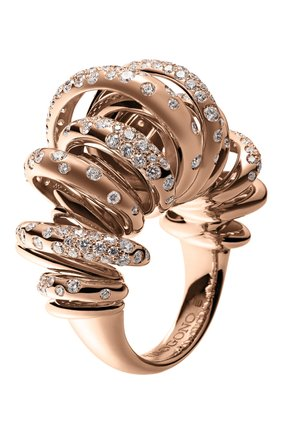 Женские кольцо DE GRISOGONO розового золота цвета, арт. 54401/04   Фото 1