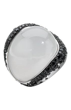 Женские кольцо DE GRISOGONO белого золота цвета, арт. 54701/09 | Фото 1