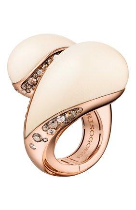 Женские кольцо DE GRISOGONO розового золота цвета, арт. 54801/10 | Фото 1