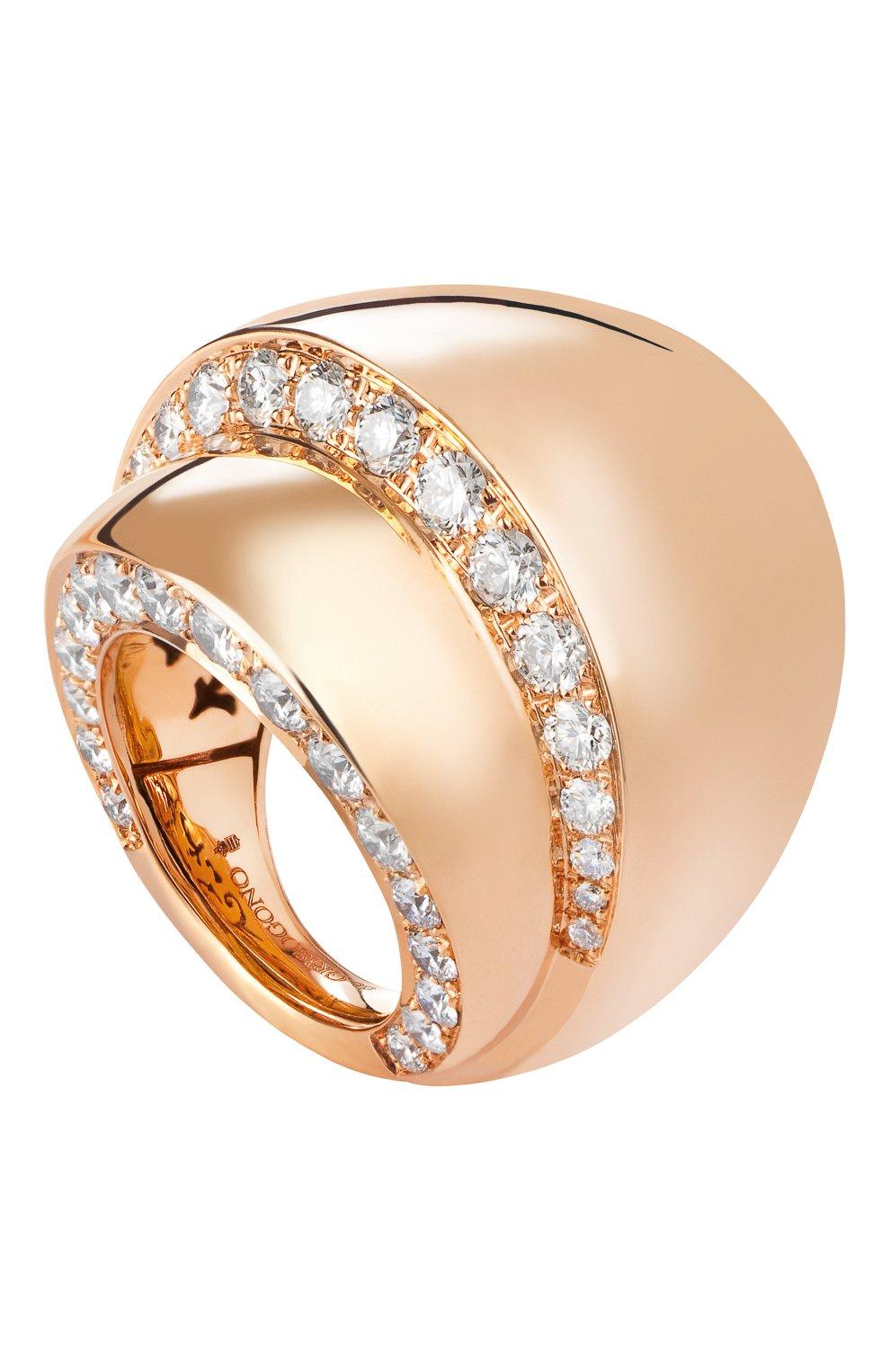 Женские кольцо DE GRISOGONO розового золота цвета, арт. 55301/04   Фото 1