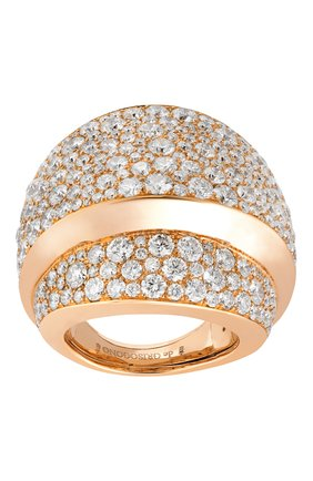Женские кольцо DE GRISOGONO розового золота цвета, арт. 55302/04 | Фото 1