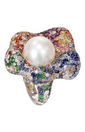 Женские кольцо DE GRISOGONO белого золота цвета, арт. 55521/01 | Фото 1