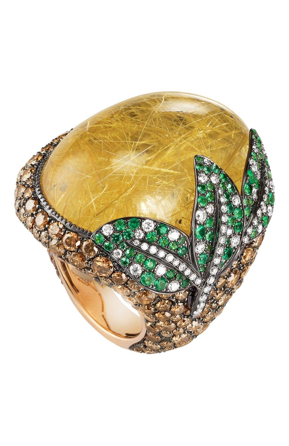 Женские кольцо DE GRISOGONO желтого золота цвета, арт. 55927/01 | Фото 1