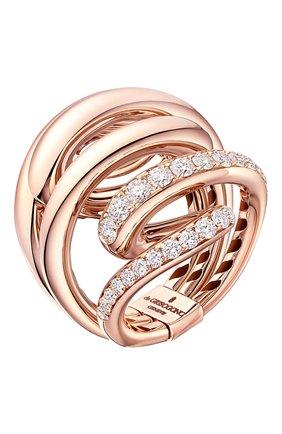 Женские кольцо DE GRISOGONO розового золота цвета, арт. 58401/04 | Фото 1