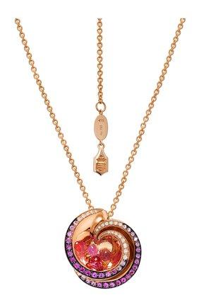 Женские кулон DE GRISOGONO розового золота цвета, арт. 91251/05 | Фото 1