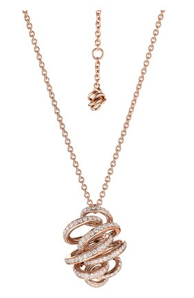 Женские кулон DE GRISOGONO розового золота цвета, арт. 98412/04 | Фото 1