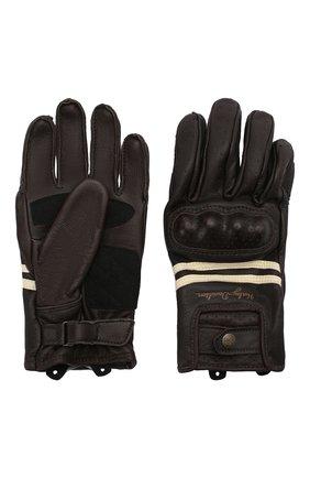 Женские кожаные перчатки genuine motorclothes HARLEY-DAVIDSON черного цвета, арт. 98275-19EW | Фото 2