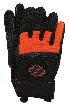 Женские комбинированные перчатки genuine motorclothes HARLEY-DAVIDSON разноцветного цвета, арт. 98160-20VW | Фото 1